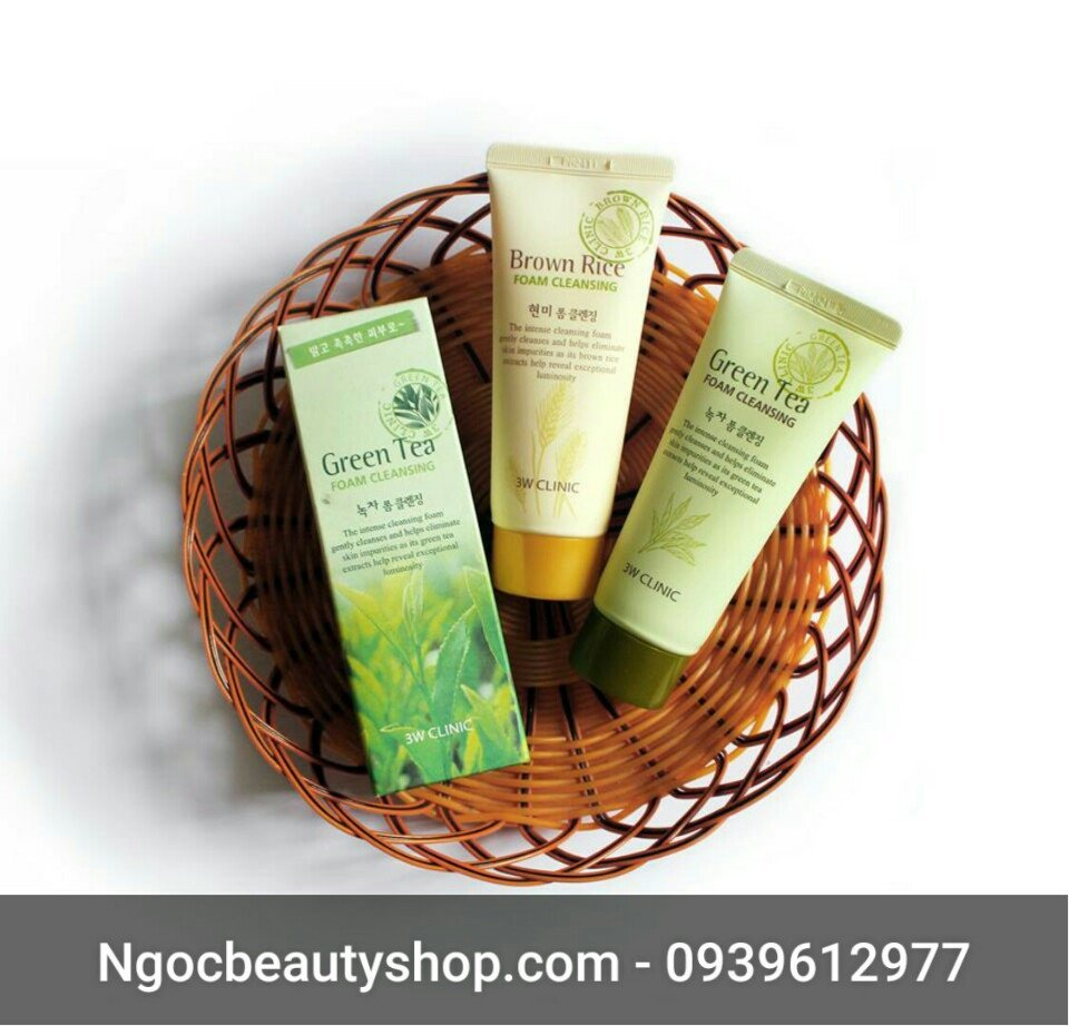 sua_rua_mat_tra_xanh_green_tea_foam_cleansing_3w_clinic_ngocbeautyshop.com_0939612977_1